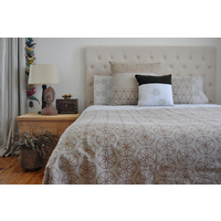 Pinch River 'flower of life' King size Quilt Set